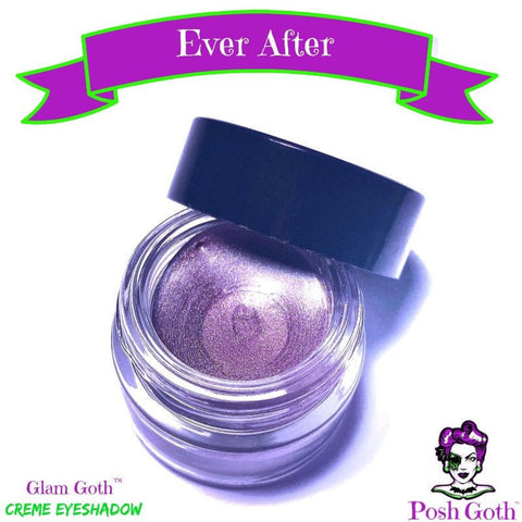 EVER AFTER Glam Goth™ Icy Purple Creme Eyeshadow
