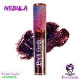 NEBULA Wicked Liquids™ Lip Sparkle Gloss by Posh Goth