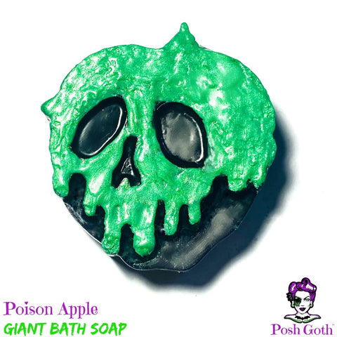 POISON APPLE Hemp Soap - Candied Apple Scent
