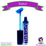 KELTOI Wicked Liquids™ Vegan Blue Opaque Lipstick