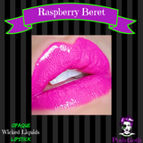 RASPBERRY BERET Wicked Liquids™ Vegan Hot Pink Liquid Lipstick by Posh Goth