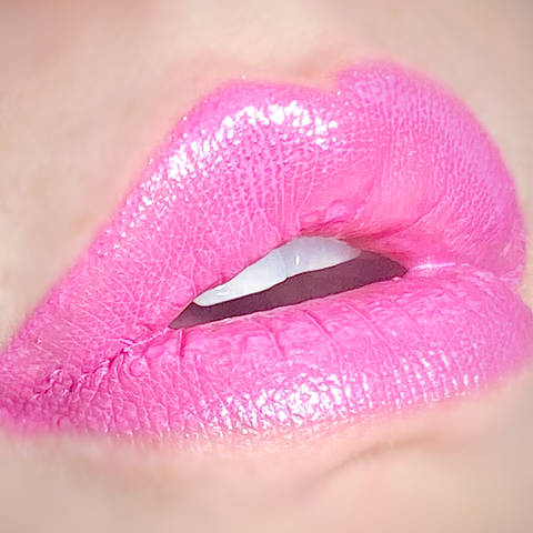 GLINDA Wicked Liquids™ Vegan Metallic Baby Pink Liquid Lipstick by Posh Goth