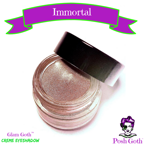 IMMORTAL Glam Goth™ Silvery Taupe Creme Eyeshadow