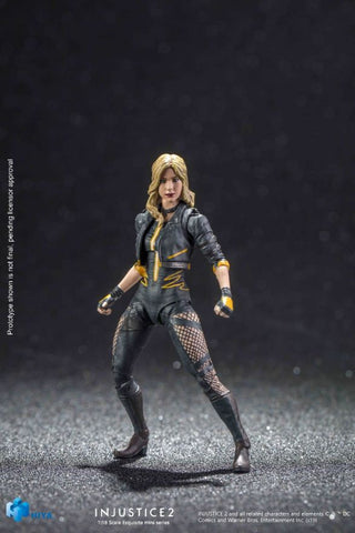 Injustice 2: Black Canary 1:18 Scale 4 Inch Acton Figure
