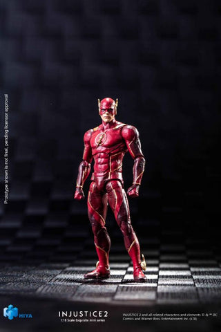 Injustice 2: The Flash 1:18 Scale 4 Inch Acton Figure