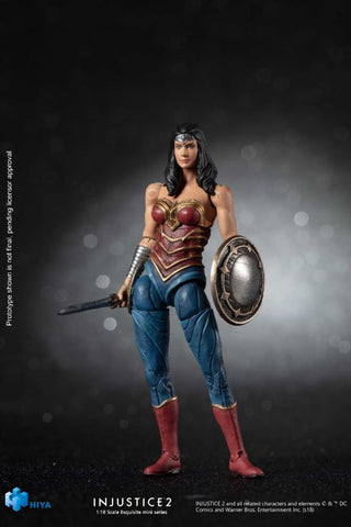 Injustice 2: Wonder Woman 1:18 Scale 4 Inch Acton Figure