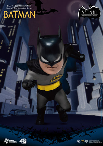 Egg Attack Action Batman The Animated Series - Batman