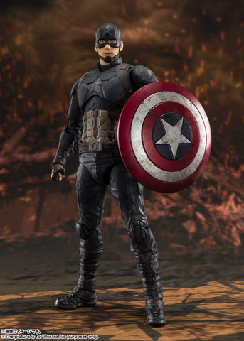 "S.H.Figuarts Capitan America-""FINAL BATTLE"" EDITION- (Avengers / End Game)"