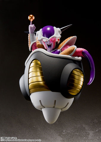 S.H.Figuarts  Freezer First Form y Frieza Pod