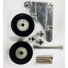 Idler bracket for Lsa converison - with Idler pulleys 101-1-BK