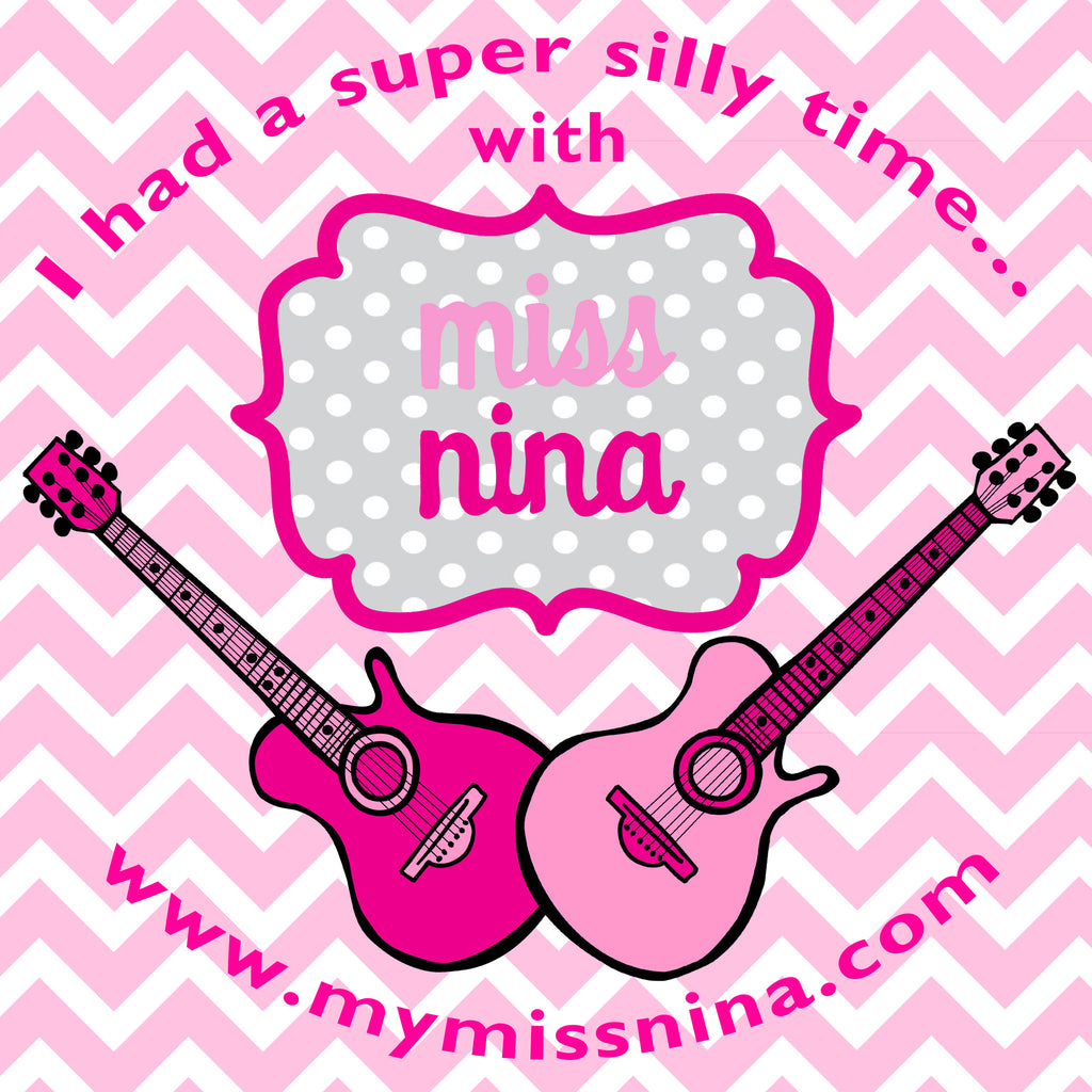 Miss Nina Stickers