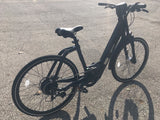 Step thru ebike 350W pedal assist only
