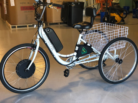 "26"" E-Tricycle 1000W 48V by AimDroix"