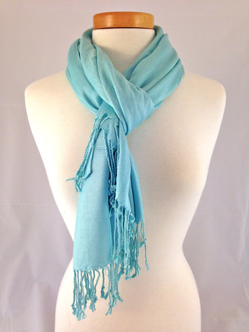 tiffany blue pashmina