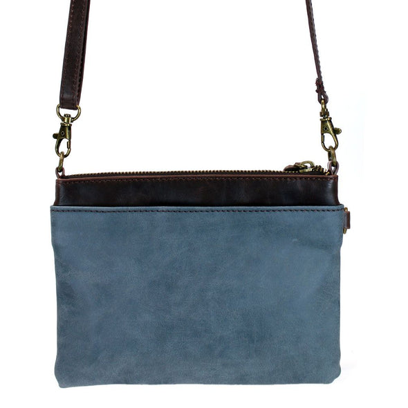 Weiner Dog Mini Crossbody Bag in Indigo