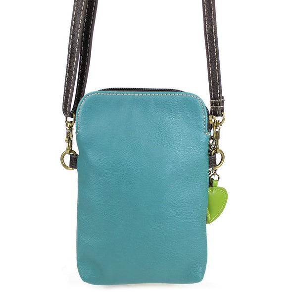 Dragonfly Crossbody Bag in Turquoise