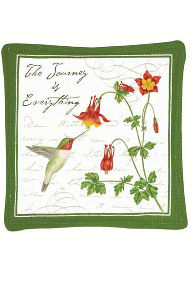 Hummingbird Single Mug Mat - We Love Hummingbirds