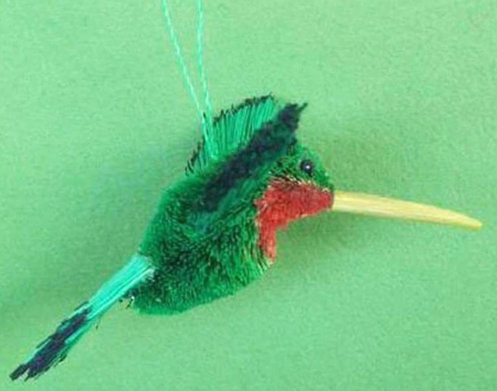Cool Hummingbird Christmas Tree Ornament - We Love Hummingbirds