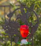 Big Red Hummingbird Feeder - 3 Nectar Ports + 3 Perches! Attracts Hummers Like Crazy!