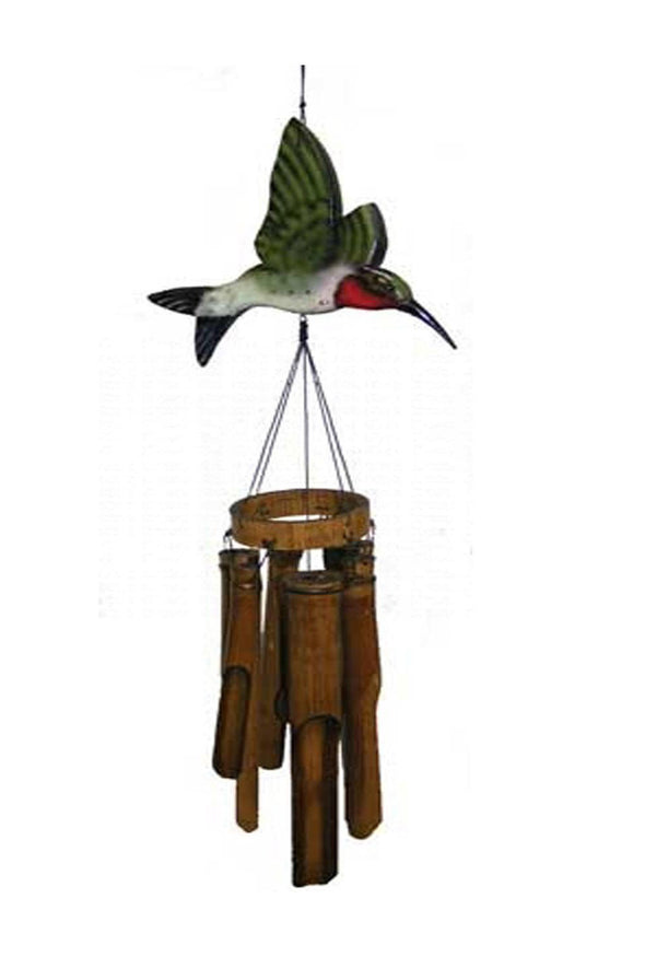 Flat Hummingbird Wind Chime - We Love Hummingbirds