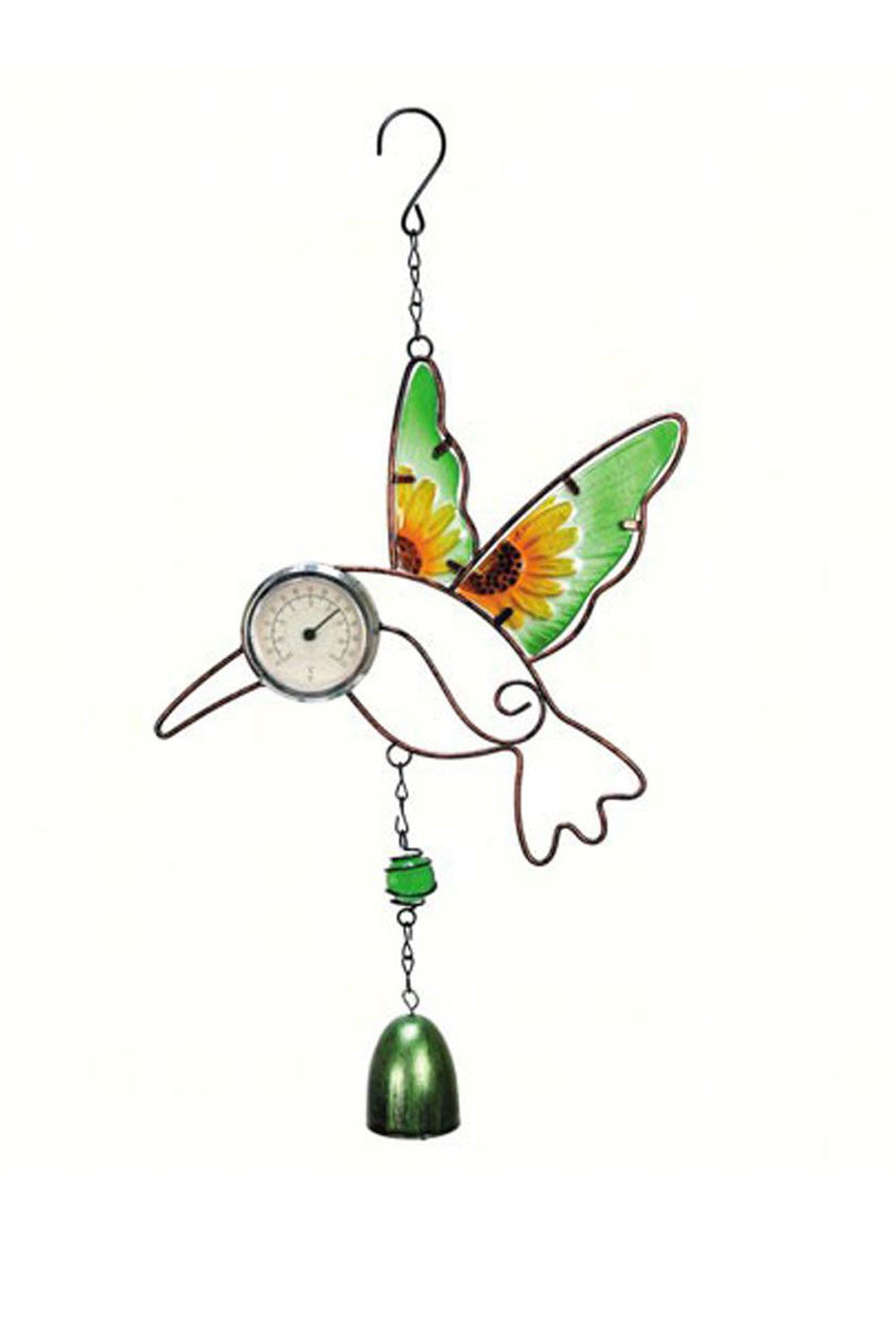Hummingbird Critter Bell Thermometer - We Love Hummingbirds