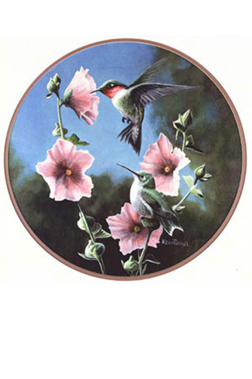 Ruby-throated Hummingbird Suncatcher - We Love Hummingbirds