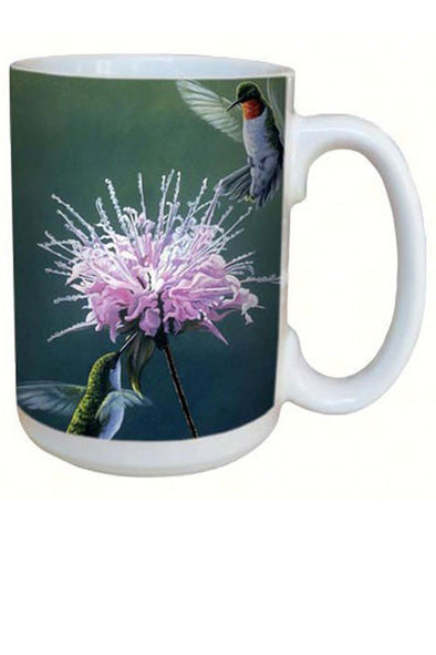 Hummingbird Treat Coffee Mug - 15 oz - We Love Hummingbirds