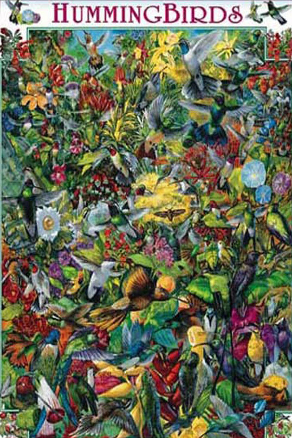 Hummingbirds - 1000 Piece Puzzle - We Love Hummingbirds