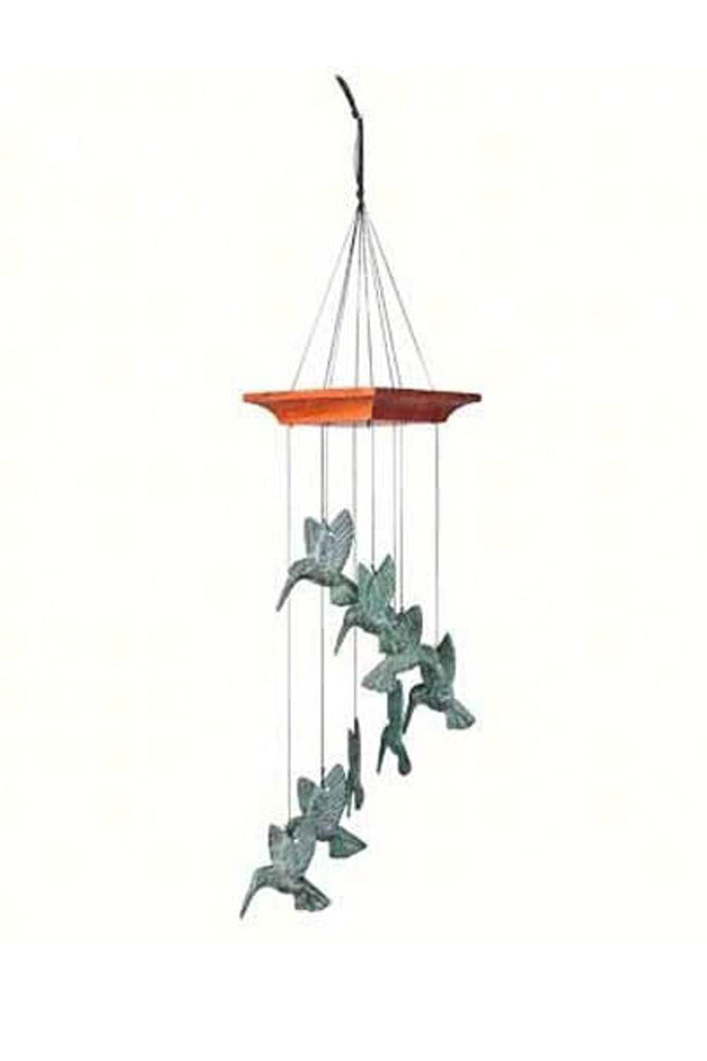 Hummingbird Spiral Windchime - We Love Hummingbirds