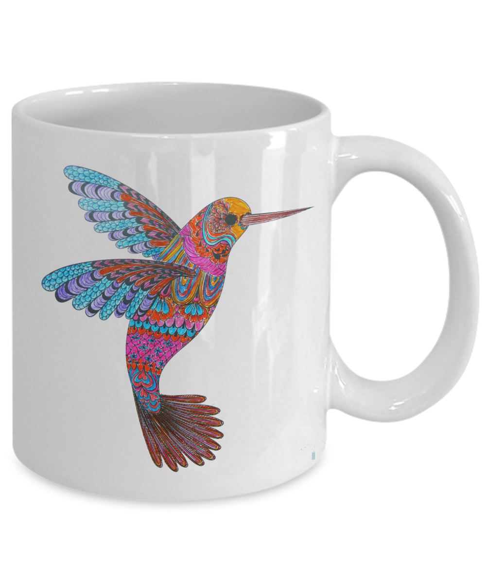 "We Love Hummingbirds - ""Fun Facts"" Limited Edition Coffee Mug"
