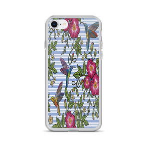 Happy Hummingbirds iPhone Case
