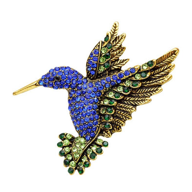 Beautiful Hummingbird Brooch