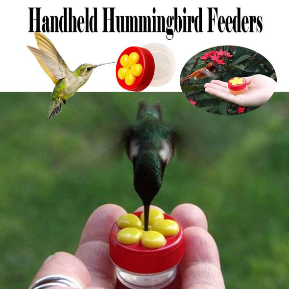 Handheld Hummingbird Feeders with Suction Cup