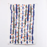 'Stripey Indigo - Tea Towel Art - #TT018
