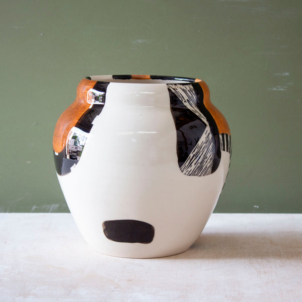 Earth Pathways - Contoured Vase