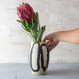 Elliptical Vase - Black