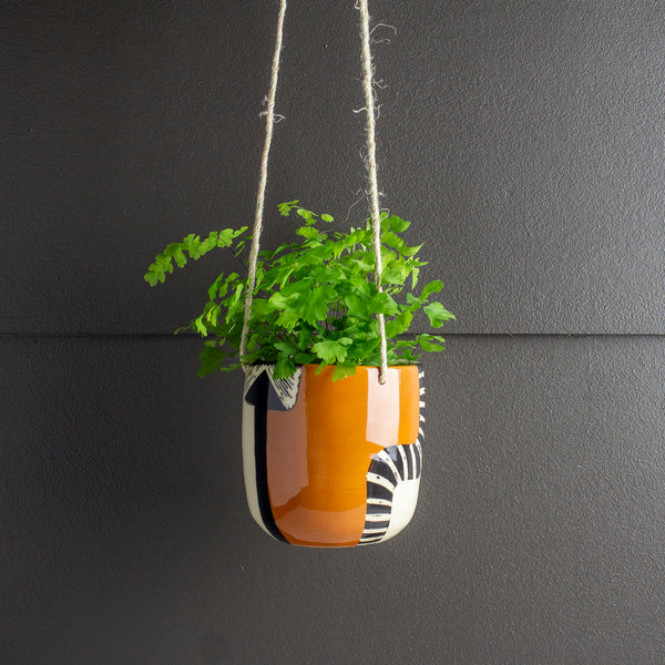 Earth Pathways - Medium Hanging Planter