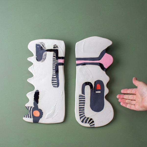 Think Ahead - Ceramic Modular Wall Piece