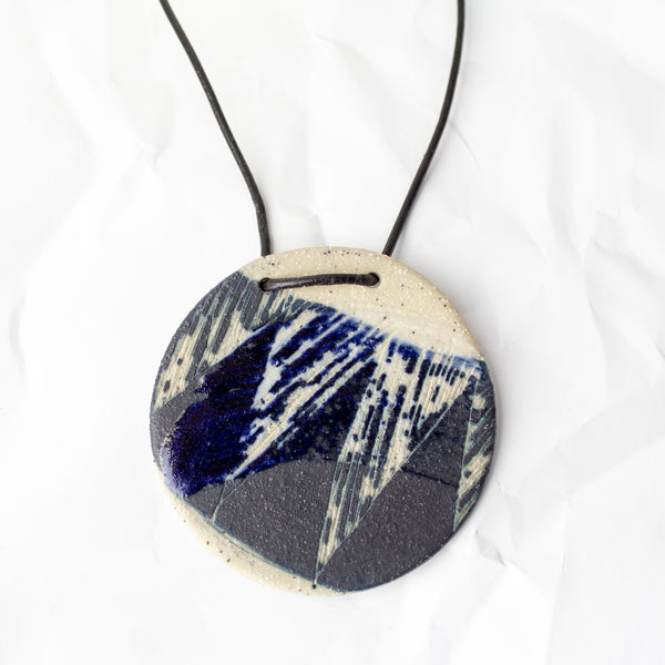 Blue Steel #1 Pendant - Blue Steel