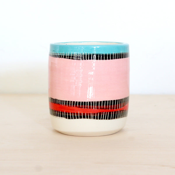 Liquorice All Sorts Ceramic Vessel - Galah