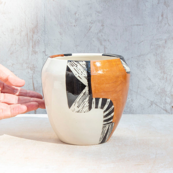 Earth Pathways - Rounded Vase
