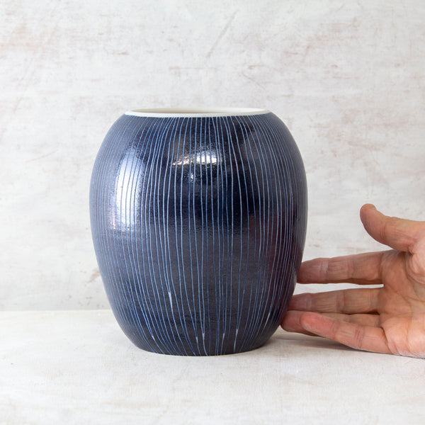Blue Steel - Orb Vessel // Vase #2