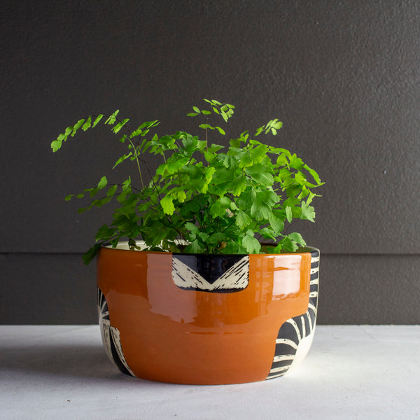 Earth Pathways low Planter