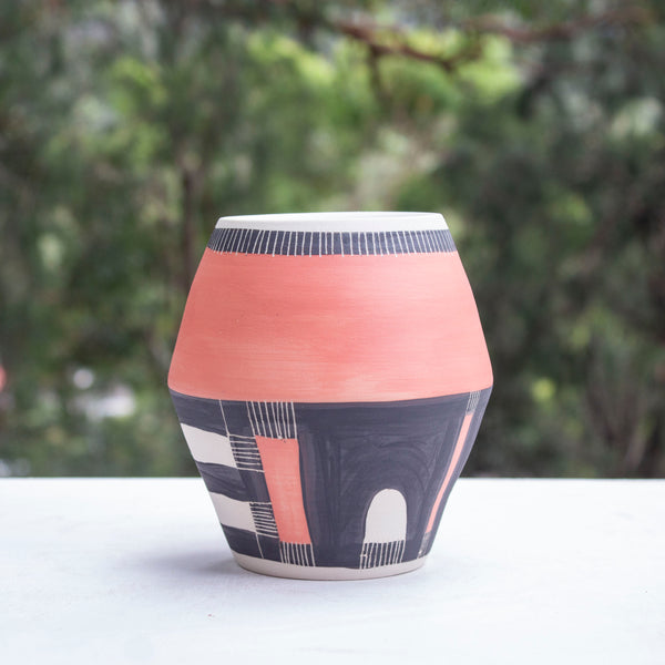Moon Angular Vase