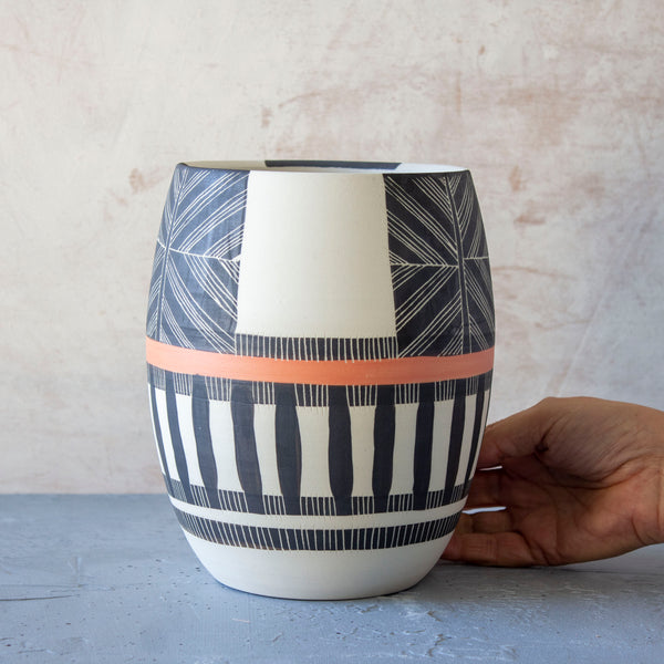 Crossweave Vessel -  In collaboration with Jardan