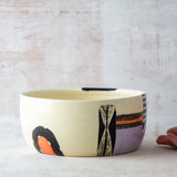 Sunset Pathways #1 Vessel - Black, Nasturtium & Lilac