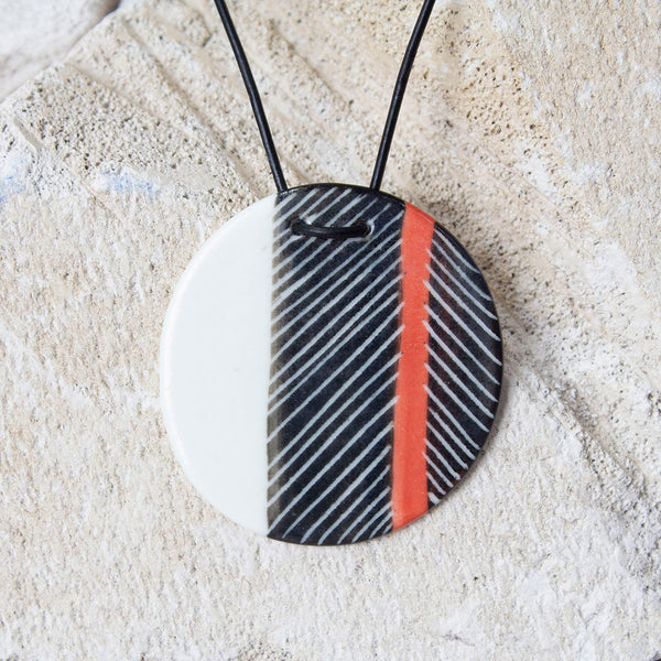 Pendant - Red Feather