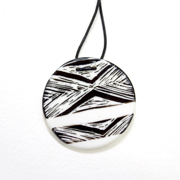 Pendant Small - Diamond BW