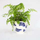 Linear Brush Bowl - Indigo