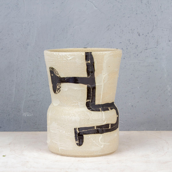 Intersection - Fluted Vessel